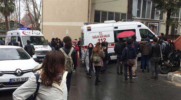 İstanbul Üniversitesi'nde faşist saldırı
