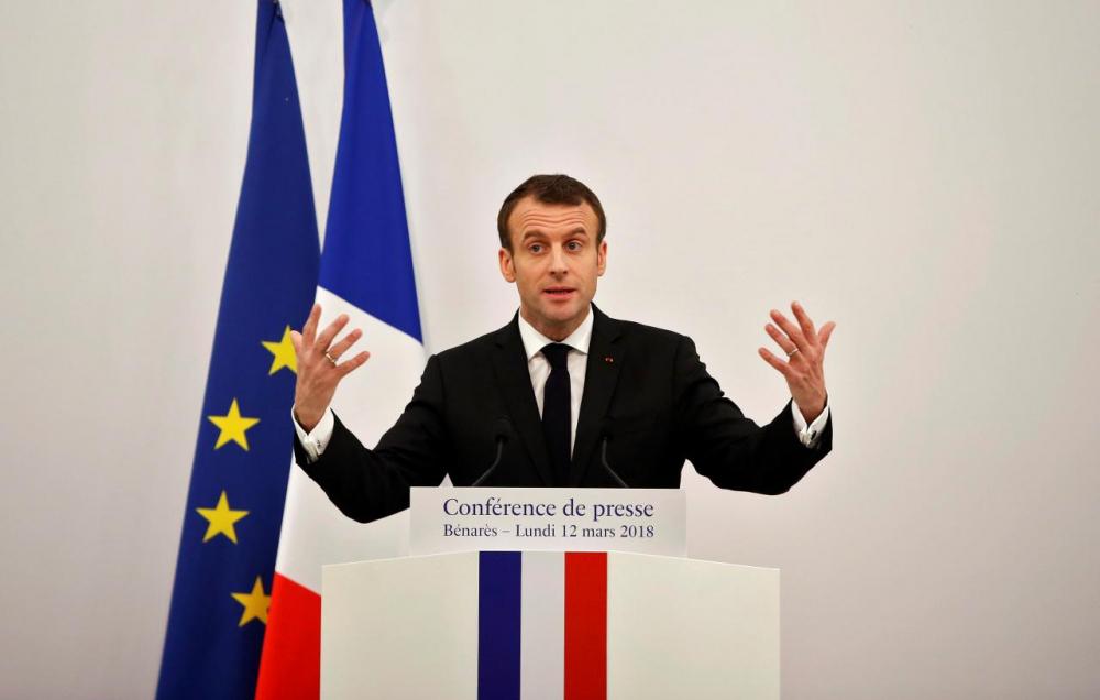 Fransa ordusu Suriye'ye saldırı planlarını Macron'a sundu