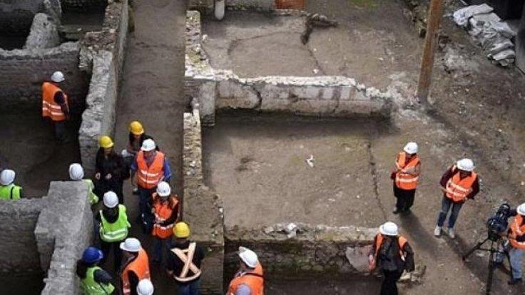 İtalya'da metro kazısında tarihi eser bulundu