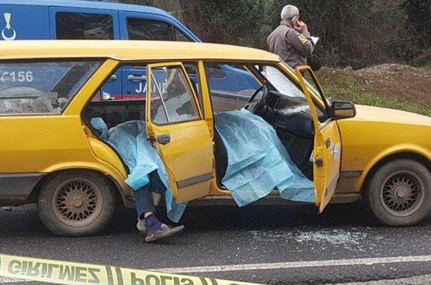 Aracın önünü kesip katliam yaptı