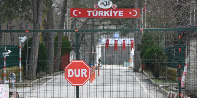 Koşarak sınırı geçen vatandaş gözaltına alındı