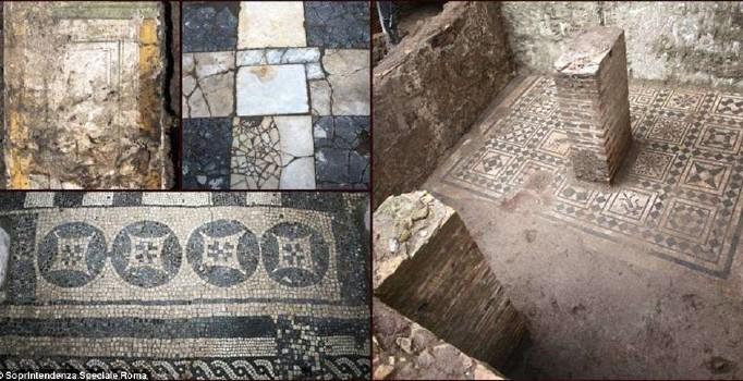 Metro kazısında 2000 yıllık saray bulundu