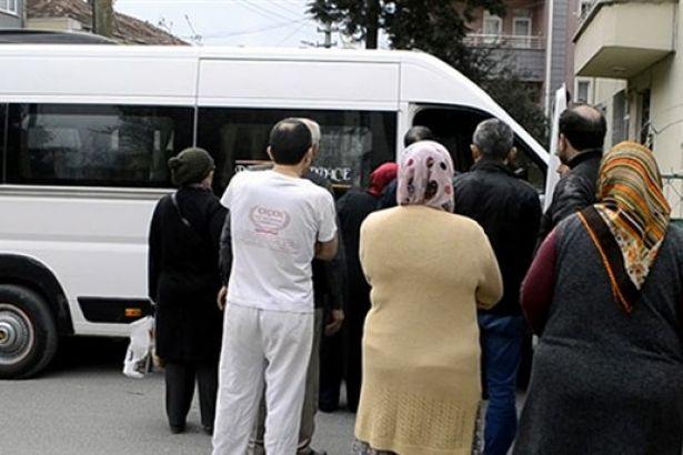 Samsun'da ortaokul öğrencisi serviste unutuldu