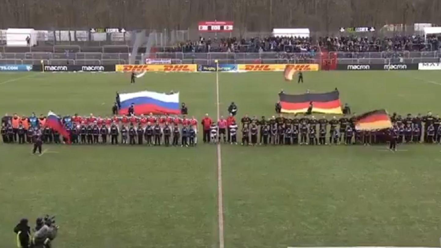VIDEO | Rusya'nın maçında yanlışlıkla Sovyetler Birliği'nin marşı çalındı: Oyuncular coşkuyla eşlik etti