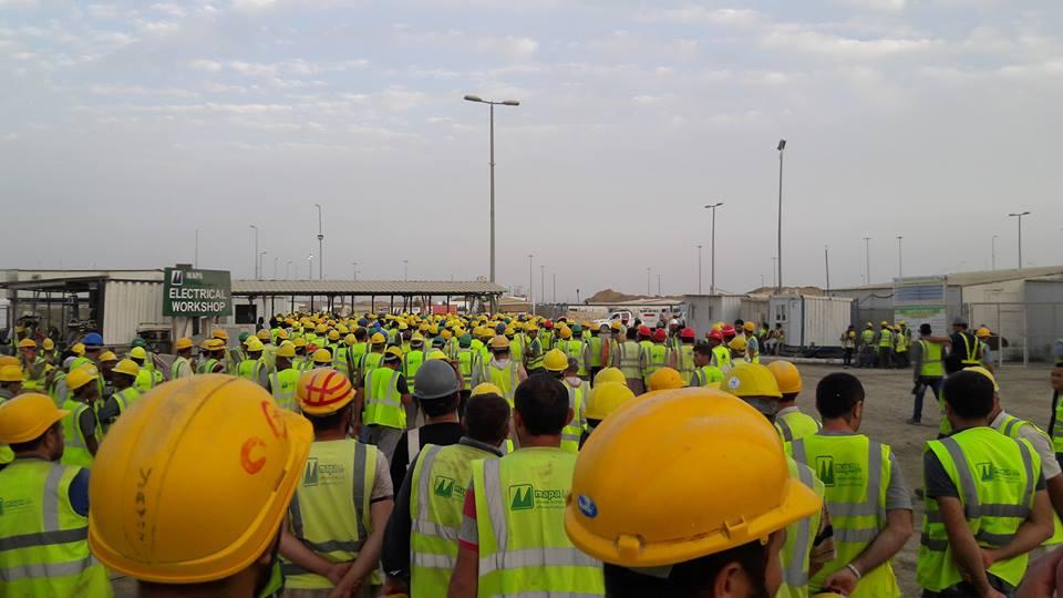 Suudi Arabistan'da inşaat işçilerinden grev kararı