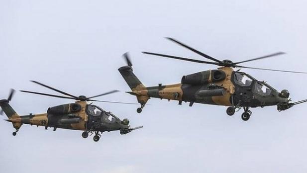 TSK Afrin'e havadan attığı Arapça ve Kürtçe bildiriyi paylaştı