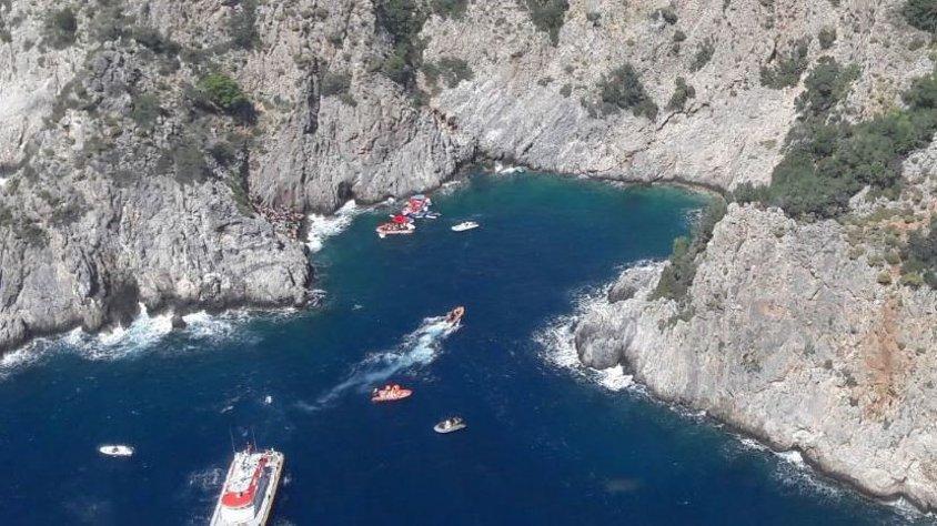 Fethiye'de tekne battı, 75 üniversite öğrencisi ölümden döndü