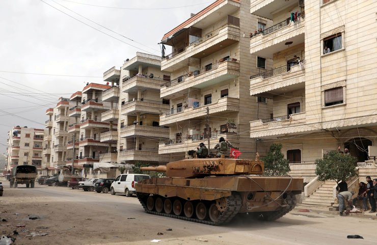 Afrin'de 1 asker hayatını kaybetti, 3 asker yaralı