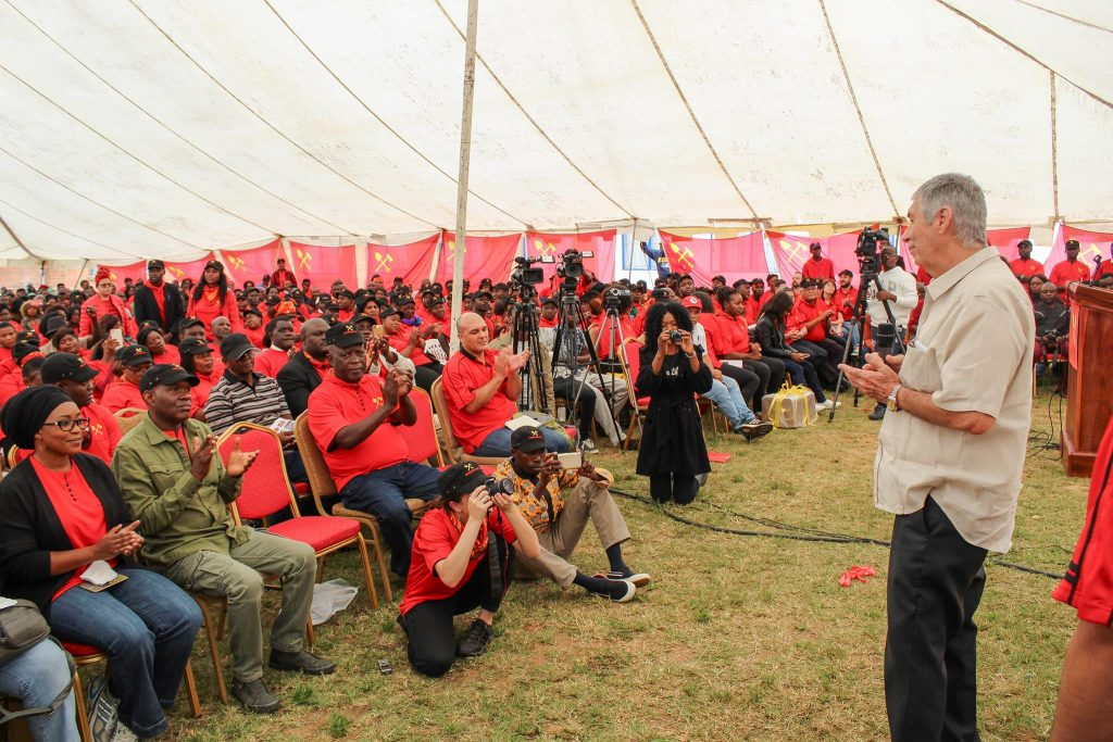 Zambiya Sosyalist Partisi kuruldu