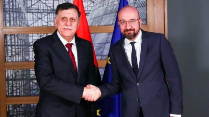 AB Konseyi Başkanı, Serrac'la görüştü