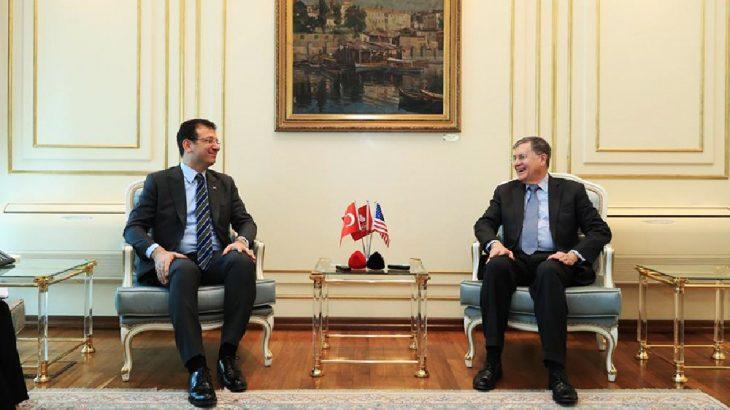 ABD Büyükelçisi Satterfield, İBB Başkanı İmamoğlu'nu ziyaret etti