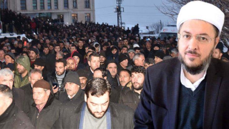 Vali, başsavcı, il jandarma komutanı: Tarikat'şeyh'inin cenazesinde