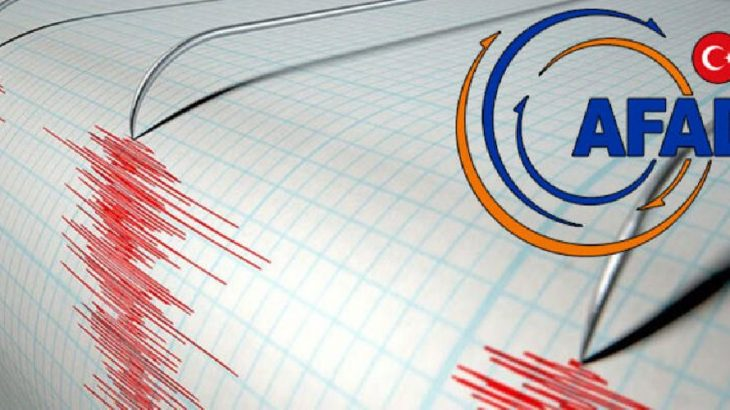 AFAD'dan deprem açıklaması: Oldukça güçlü