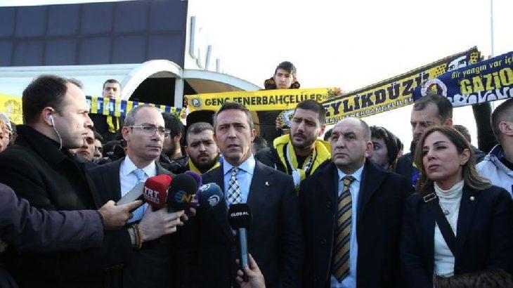 Ali Koç: O gün köprüye ilk Fenerbahçeliler çıktı