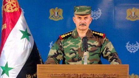Suriye ordu sözcüsü: Tüm Suriye terörden temizlenene kadar görevdeyiz
