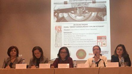 """Ankara'da """"Şiddet Sarmalındaki Toplum ve Hukuk"""" paneli düzenlendi"""