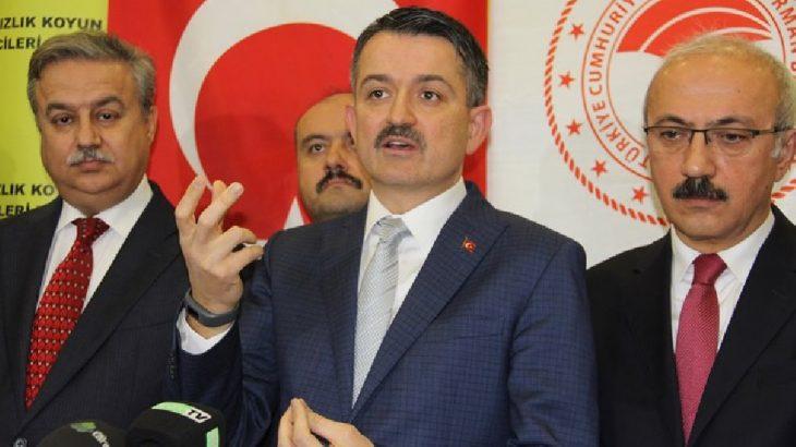 'Asrın Projesi'nde patlayan boru iddialarına ilişkin Bakan Pakdemirli: Kırılmadı yerinden çıktı