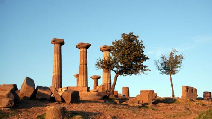 Assos Antik Kenti,'jeotermal' tehlikesiyle karşı karşıya