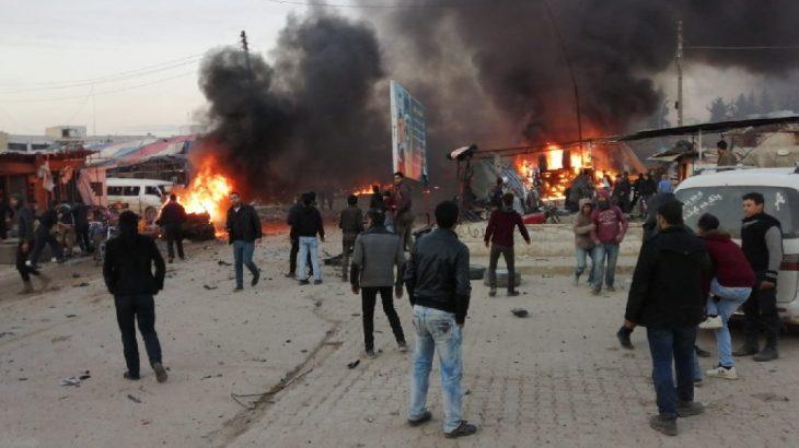 Azez'de patlama: 7 ölü