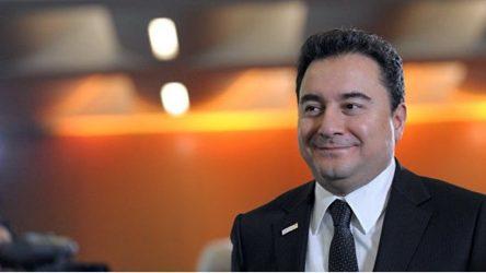 Ali Babacan'dan yeni 'yeni parti' açıklaması