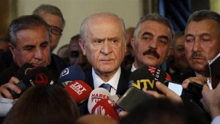 Bahçeli'den'FETÖ' açıklaması: Yetki versinler, siyasi kanadını bulalım