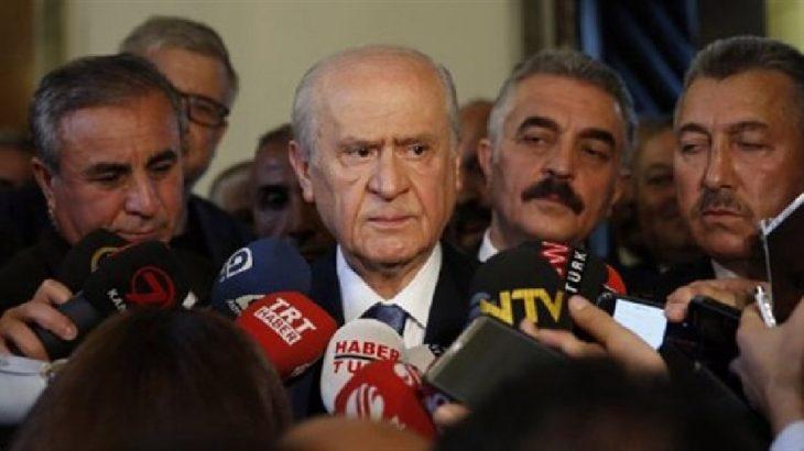 Bahçeli'den 'FETÖ' açıklaması: Yetki versinler, siyasi kanadını bulalım