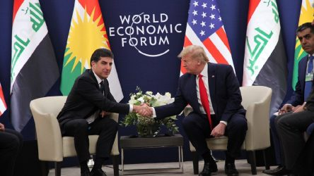 Trump'tan Barzani'ye'güvenli bölge' teşekkürü
