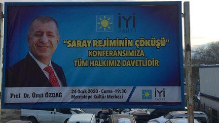 Bilecik Bozüyük'te AKP'den'Saray Rejiminin Çöküşü' konferansına suç duyurusu