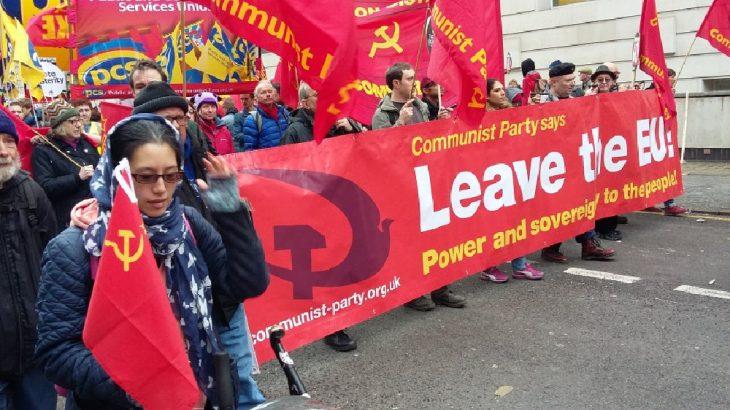 Britanya Komünist Partisi'nden Brexit açıklaması