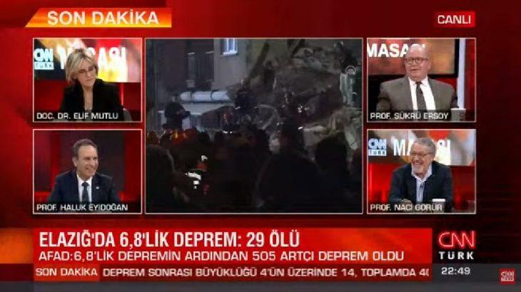 VİDEO   CNN Türk'te'yolsuzluk ve yoksulluk' müdahalesi