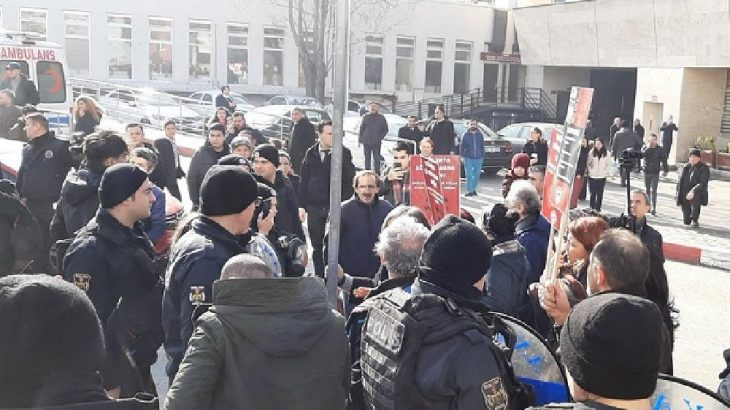 Ankara'da sağlıkta şiddeti protesto eylemine polis saldırısı