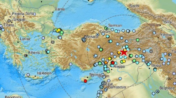 Elazığ'daki deprem Suriye, Irak, Filistin ve Lübnan'da da hissedildi!