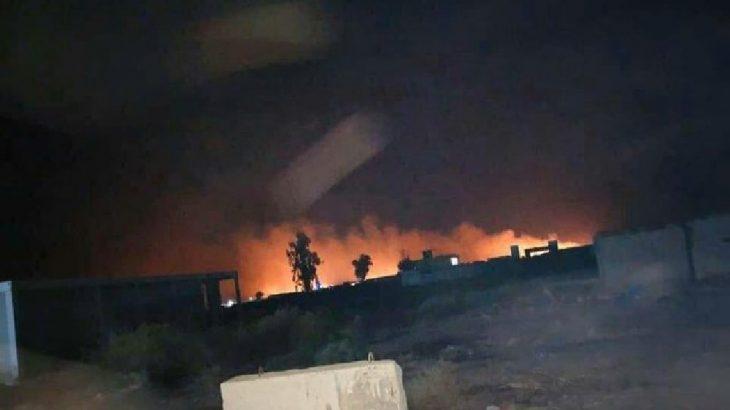 Bağdat'ta Haşdi Şabi araçlarına hava saldırısı düzenlendi