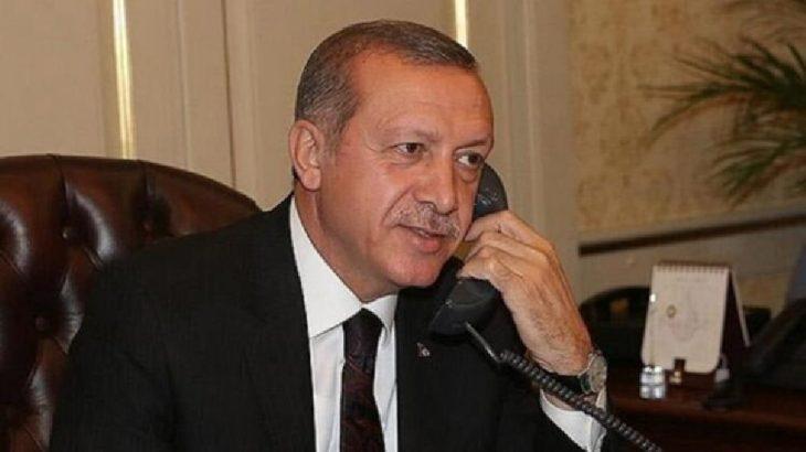 Erdoğan, Hasan Ruhani ve Berham Salih ile görüştü
