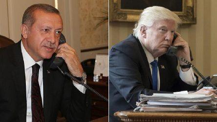 Erdoğan ve Trump Libya'yı görüştü