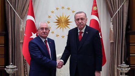 Erdoğan, YSK Başkanı Güven'i kabul etti