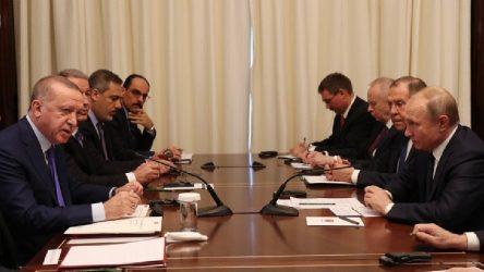 Erdoğan ve Putin'den Libya açıklaması