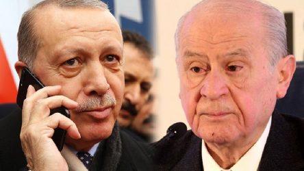 Erdoğan'dan Bahçeli'ye'doğum günü' telefonu