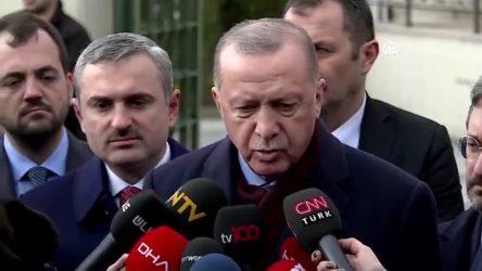 Erdoğan: İmamoğlu'nun mektubu gizli, açıklamam doğru olmaz