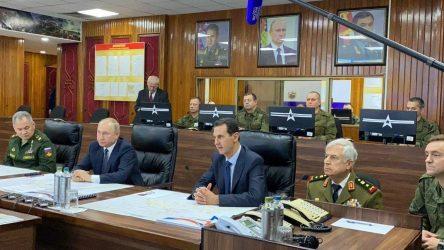 Putin'den Türkiye temasları öncesi Suriye ziyareti