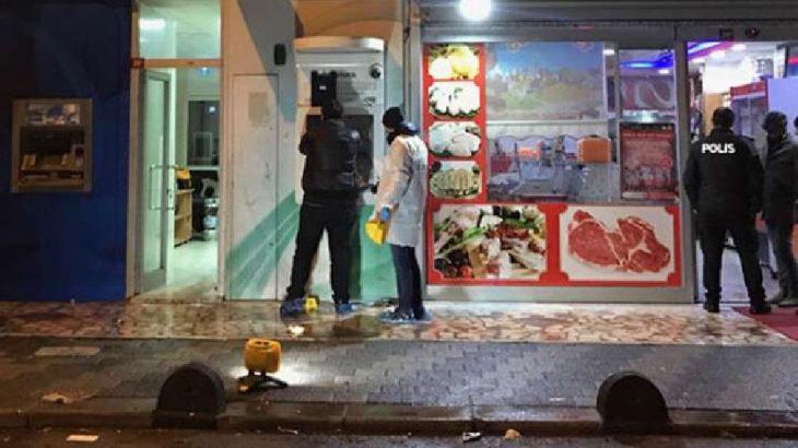 İstanbul'da ATM'ler ateşe verildi