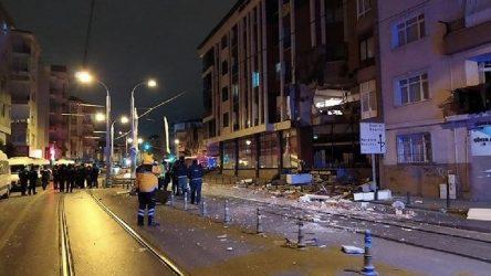 İstanbul Güngören'de patlama!