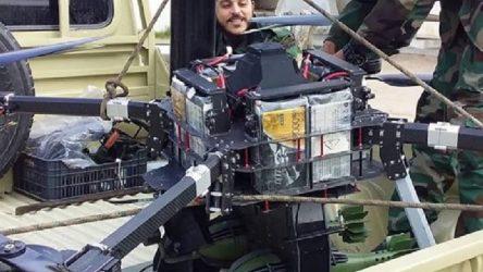 Hafter güçleri: Havan mermileri taşıyan bir Türk İHA'sı düşürdük