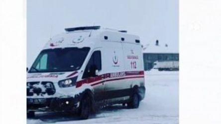Hakkari'de ambulansla drift atan sürücü hakkında soruşturma