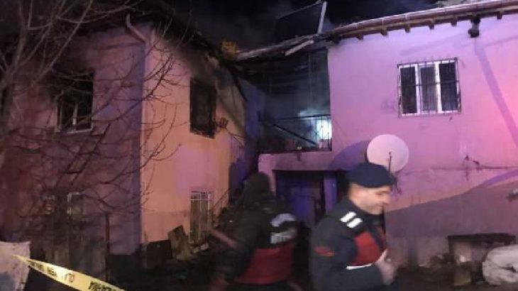 Niğde Ulukışla'da yangın faciası: 4 ölü, 3 yaralı