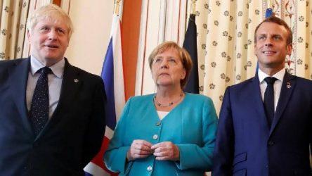 Almanya, Fransa ve İngiltere'den ortak açıklama: Suçlu İran oldu!