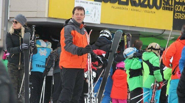 İmamoğlu'ndan 'kayak tatili' açıklaması | Gazete Manifesto