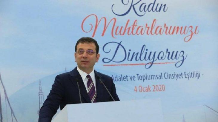 İmamoğlu'ndan Bakan Turhan'ın sözlerine tepki: Komedi filmi gibi