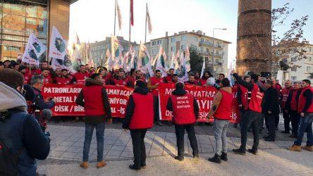 Metal işçilerinden mesaj var: Eğer taleplerimiz kabul edilmezse anayasal hakkımız olan greve gideceğiz