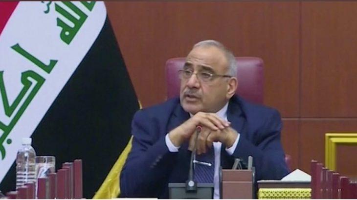 Irak Başbakanı Adil Abdulmehdi: ABD ordusundan Irak'tan çekilmelerine dair mektup aldık